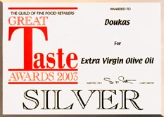 silver at great taste awards