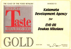 gold at great taste awards